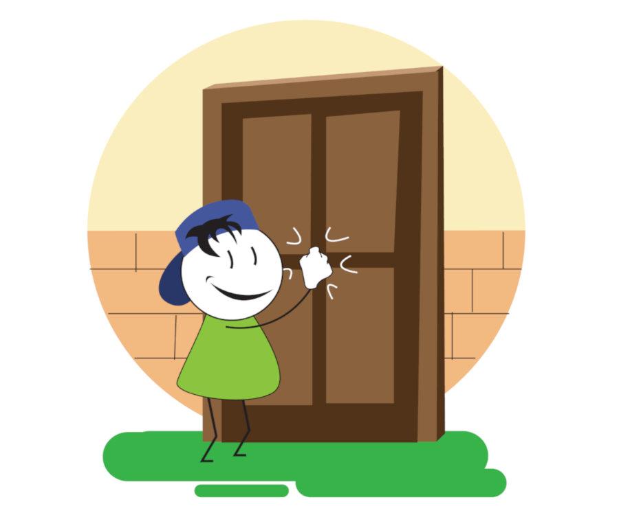 Door-To-Door Contact